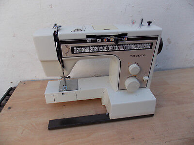 TOYOTA 2700 Sewing Machine, UNTESTED. Main unit only, , NO FOOT PEDAL/CONTROLLER