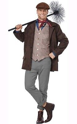 Burt The Chimney Sweep Mary Poppins Adult Mens Costume