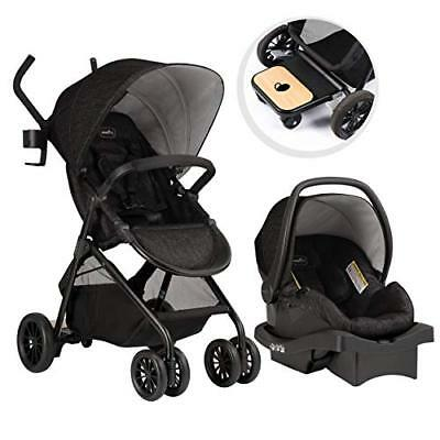 Evenflo Sibby Travel System, Charcoal