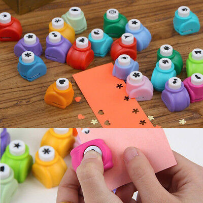 KF_ Mini Scrapbook Punches Handmade Cutter Printing DIY Paper Hole Puncher Eag