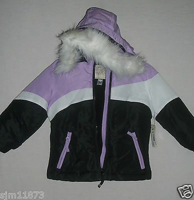 5d96dcfd43d8 NWT  65 CANYON River Blues Girls  Hooded Bubble Jacket Size 7 8 ...