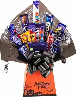 Cadbury Halloween Trick or Treats Chocolate Bouquet Hamper Selection Gift