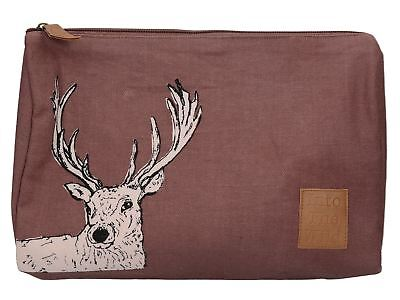 Creative Tops Into The Wild Stag Large Cosmetic Bag