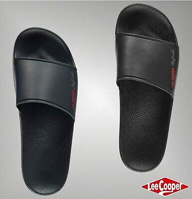 1cd64b0a4714 Mens Branded Lee Cooper Lightweight Water Resistant Sliders Footwear Size  7-11