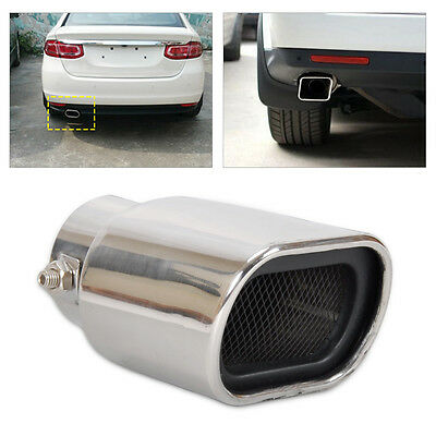 Universal Straight STAINLESS Exhaust Tail Pipe Rear Muffler End Trim ? 56mm