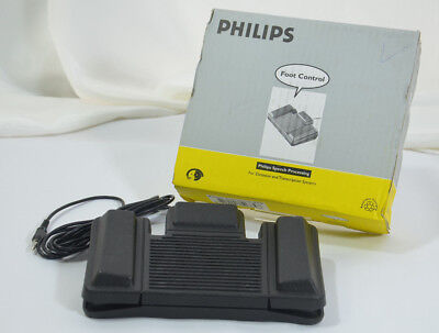 Philips Foot Control Pedal Switch LFH 210 For Transcription Dictation NEW BOXED