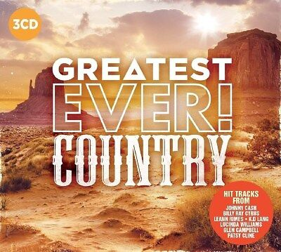 Greatest Ever! Country - Various Artists (Album) [CD]