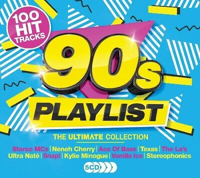 Ultimate 90s Playlist - Various Artists (Box Set) [CD]