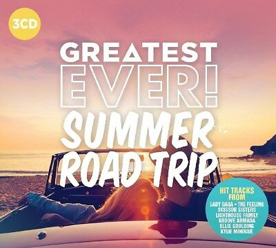 Greatest Ever! Summer Road Trip - Various Artists (Album) [CD]