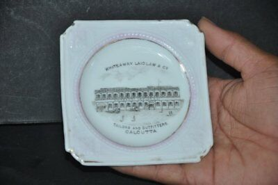 Vintage Whiteway Laidlaw & Co. Tailors & Outfitters Ad Ceramic Ash Tray