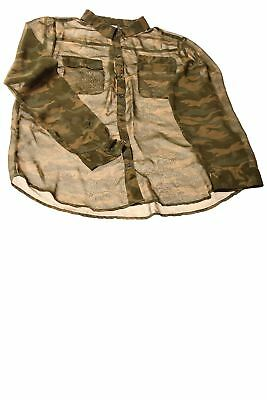 USED Old Navy Women's Top X-Large Camo Print