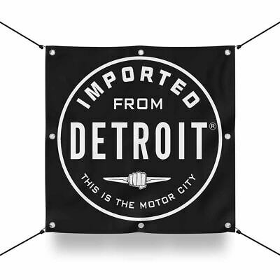 Banner - Chrysler Imported From Detroit Circle