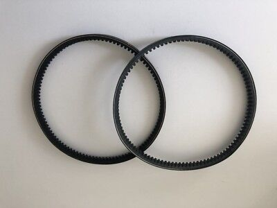 2 x Belle Drive Belts Suits Old Type Mini Mix 140 & 150 Pre 1999 Cement Mixers