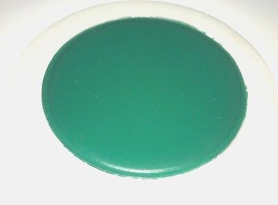 Qty 1 TAX DISC-PERMIT HOLDER ref mid green  in self cling