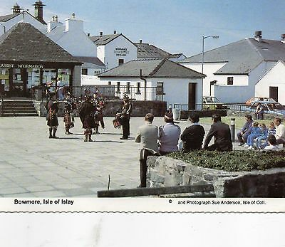 Postcard  Scotland   Bowmore Isle of Islay un  posted