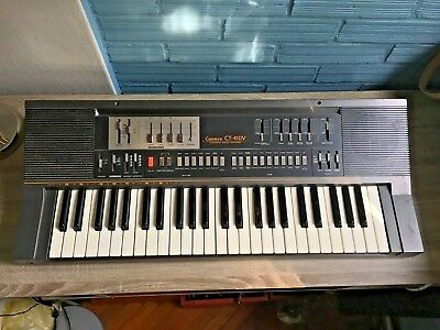 Vintage Casio Casiotone CT-410V Electronic Keyboard Rare Piano Synthesizer Organ