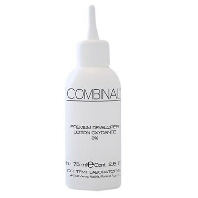Combinal Eyelash & Eyebrow tint Premium Gel Developer Hydrogen Peroxide 3% 75ml