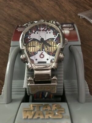 Star Wars Episode 1 C-3Po Skeletal Watch New