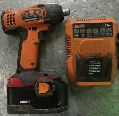 RIDGID 18V R8823 Impact Driver Kit With Battery And Charger