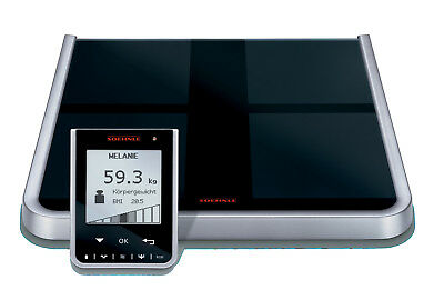 Soehnle Body Balance DIGITAL BMI Fat Analysis BATHROOM SCALES Wireless LCD 150kg