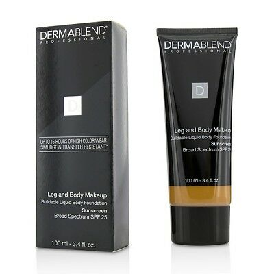 Dermablend Leg and Body Make Up Buildable Liquid Body - #Tan Golden 65N 100ml