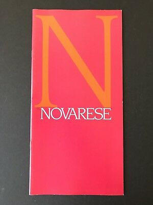 ITC Novarese, type specification book, 1979, 32 pgs, designed by Aldo Novarese