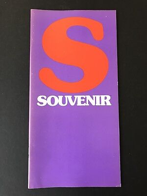ITC Souvenir, type specification book, 36 pages, 1974, designed by Ed Benguiat
