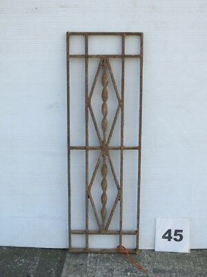 Antique Egyptian Architectural Wrought Iron Panel Grate (IS-045)