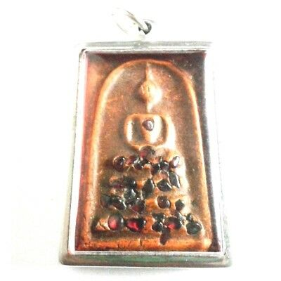 Pendant Necklace Phra Somdej Dungeon Kru Magic Holy Great Kindness Safe All B13