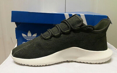 3887c0f95f5f ADIDAS ORIGINAL GREEN Tubular Shadow Trainers UK Size 3 4 5 6 Boys ...