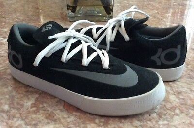 7197593b229c Nike KD VULC Kids Youth Black White Athletic Sneakers Size 5.5Y  842085-001