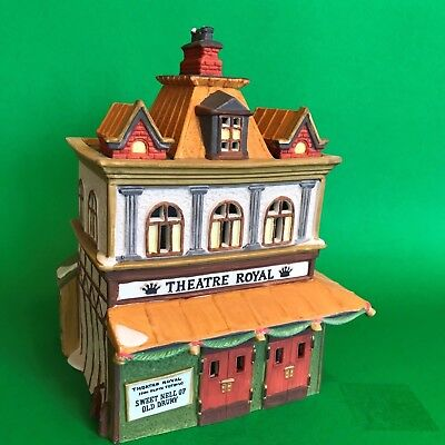 Dept 56 Theatre Royal #55840 Dickens' Village, Lighted Building