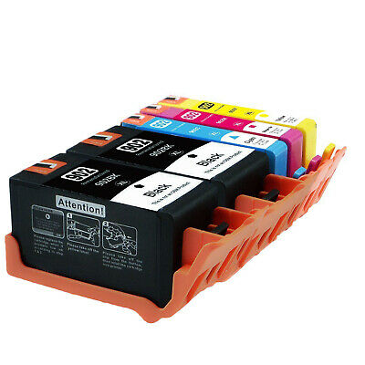 4 PK Compatible For HP 902XL 902 Ink Cartridges HP OfficeJet Pro 6968 6978 6962