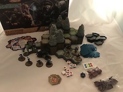 HeroScape DnD Master Set 3, Battle For The Underdark (All pieces)