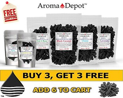 Incense Premium CHARCOAL CONES Handmade Choose Scent Variety Wholesale Lot