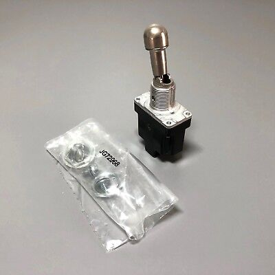 Honeywell 1TL1-2D SPST Locking Toggle Switch Military Aviation MS24658-22D