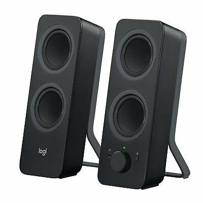 Logitech Z207 2.0 Bluetooth Computer Speakers with Auxliary Jack 980-001294