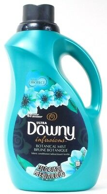 1 Downy Infusions Botanical Mist Fabric Protect Conditioner 83 Loads 77 oz