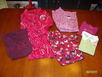 6 Piece lot of girls clothing, all size 7/8/S/M