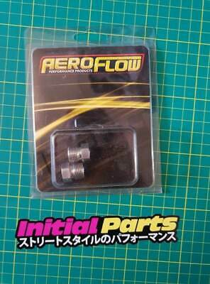 "Aeroflow S/Steel Inverted Flare Tube Nut 9/16""-20 to 3/16"" Hard Line (AF370)"