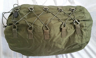 Canadian Military Army Surplus Sleeping Bag & Liner & Cover Bag (3 pcs.)
