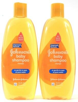 2 Johnsons Baby Shampoo As Gentle To Eyes As Water No More Tears Moms Trust 15oz