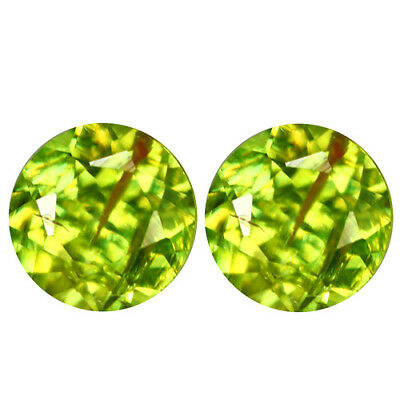 1.07ct GOLDEN GREEN SPHENE TITANITE GEMSTONE