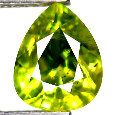 2.61ct GOLDEN GREEN SPHENE TITANITE GEMSTONE
