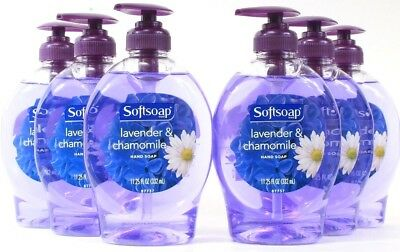 6 Softsoap 11.25 Oz Lavender & Chamomile Hand Soaps For A Soothing Magical Clean