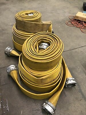 Heavy Duty 400 PSI..Fire Hoses..fire/industrial/ Water Hoses
