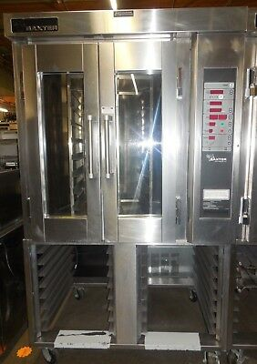 Used! Baxter Ov300G Mini Rotating Convection Oven, Nat. Gas, 120 Volts