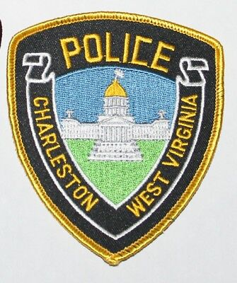 CHARLESTON POLICE West Virginia Capital City PD WV Capitol Building patch