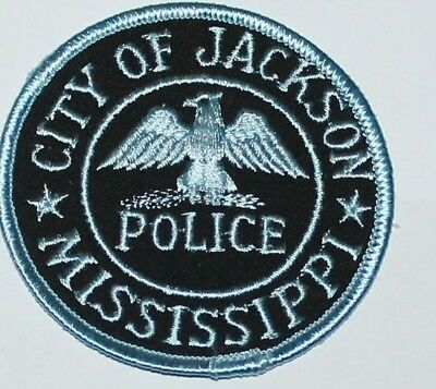 CITY OF JACKSON POLICE Mississippi Capital City MS PD patch