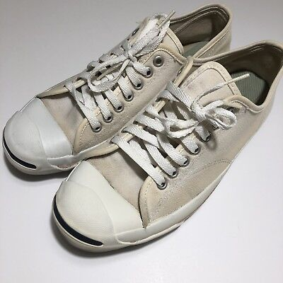 e2d95ab1f333 VINTAGE JACK PURCELL Converse Shoes RARE Size 8 Made In USA 70s 80s ...